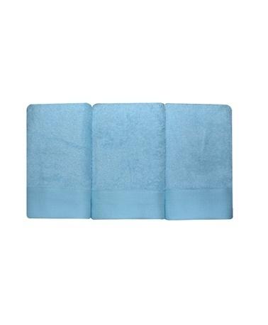 Nakkısh 30X50 3'Lü Mutfak Havlusu Seti - Mavi Mavi